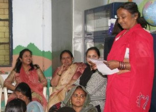 The center is providing support to vulnerable grups of women.